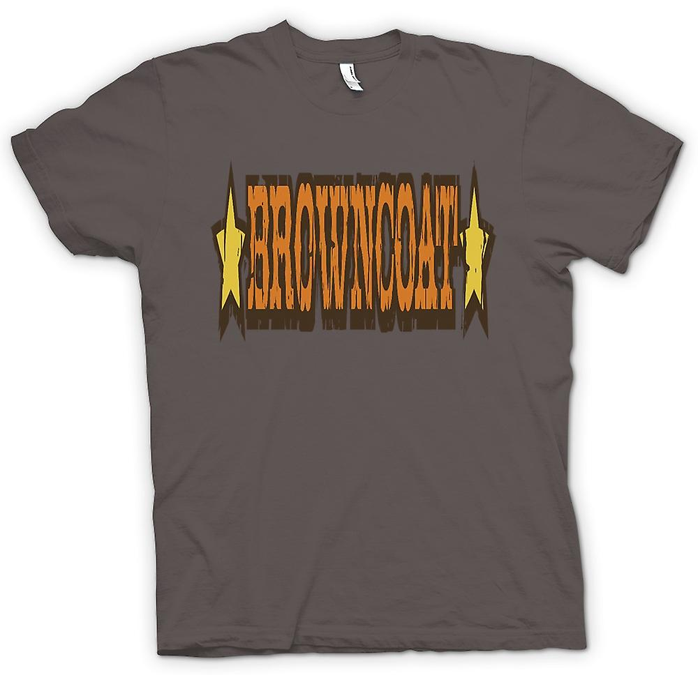 Womens T-shirt - Browncoat - Firefly Inspired