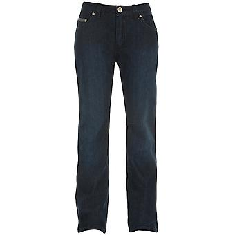 Bull-It Blau Easy SR6 Boot Cut-Long Womens Motorcycle Jeans