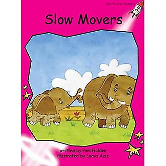 Slow Movers: Emergent (Red Rocket Readers: Fiction Set B)