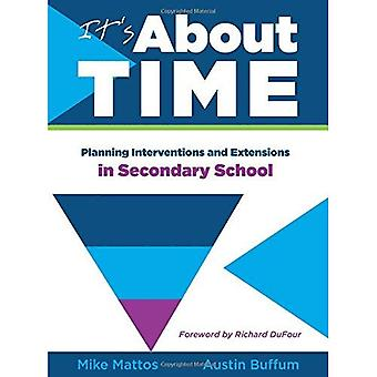 It's about Time [Secondary]: Planning Interventions and Extensions in Secondary School