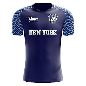 2019 - 2020 New York City bort konceptet fotbollströja