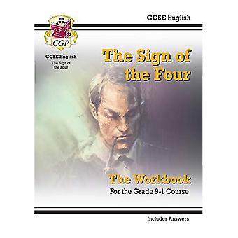 Nuevo grado 9-1 GCSE English - el signo del libro cuatro (incluye respuestas)