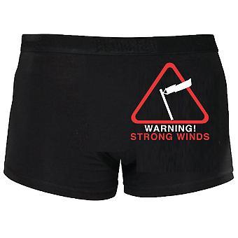 Waarschuwing sterke wind Boxers