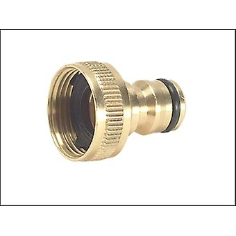 Rehau Brass Tap aansluiting 3/4 in