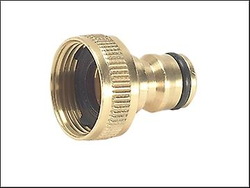 Rehau Brass Tap Connector 3/4in