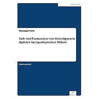 Farb und Formanalyse von Stimmlippen in digitalen laryngoskopischen Bildern by Palm & Christoph