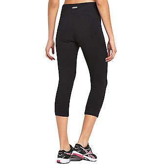 Slazenger Womens High Waist 3/4 Three Quarter Capri Running Gym Tight Leggings