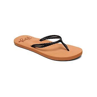 Roxy Womens Costas Casual Beach Sandals - Brown/Black