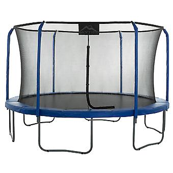 Skytric - 15 FT. Big Trampoline with Top Ring Enclosure System, Safety Net, Jumping Mat, Spring Cover Pad for Garden & Outdoor - Easy Assemble