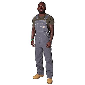 American hickory stripe work dungarees