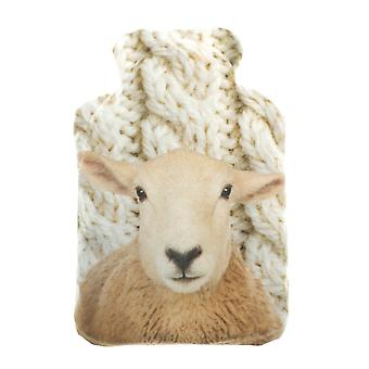 Plush Fleece Miniature Lavender Wheat Bottle: Woolly Sheep