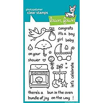 Lawn Fawn Clear Stamps Plus One (LF337)