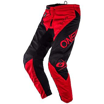 ONeal Black-Red 2020 Element Racewear MX Pant