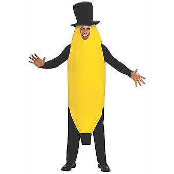 Banana Most A'peeling Fruit Food Funny Nasty Bucks Night Adult Mens Costume