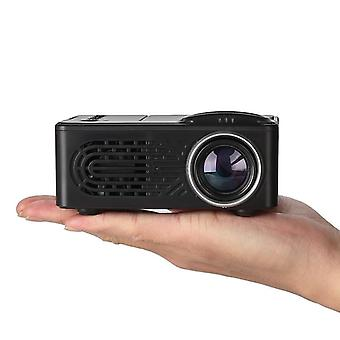Mini projector lcd led portable projector-black uk plug
