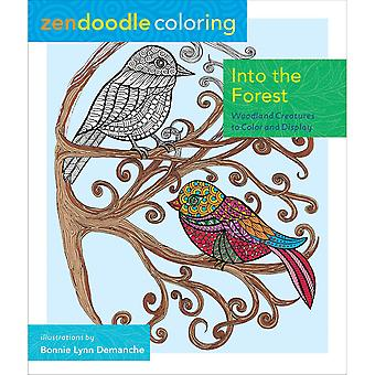 St. Martin's Books-Zendoodle Coloring: Into The Forest SM-08791