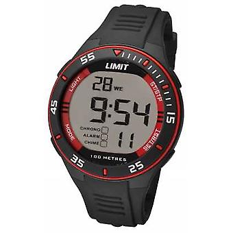 Limit Mens Black Strap Digital Dial 5572.24 Watch