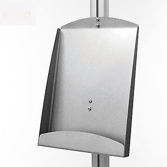 A4 Steel Brochure Holder for Display Stand - MFS Range