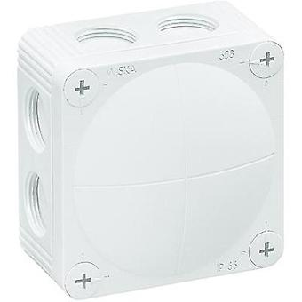 Wiska White Wet-Room Junction Box IP66