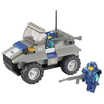 Sluban Police Assault Vehicle Parts 103 (Kids , Toys , Construction , Vehicles And Ships)