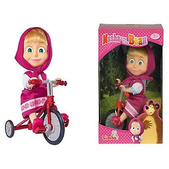 Simba Masha With Tricycle 12cm (Giocattoli , Pupazzi Ed Accessori , Bambole , Bambole)