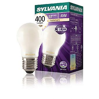 Sylvania Led Filament lamp Spherical E27 4W 400Lm Satin