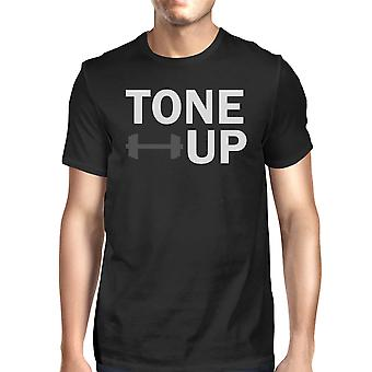 Tone Up Men's T-shirt Unisex Work Out Graphic Short Sleeve Tee