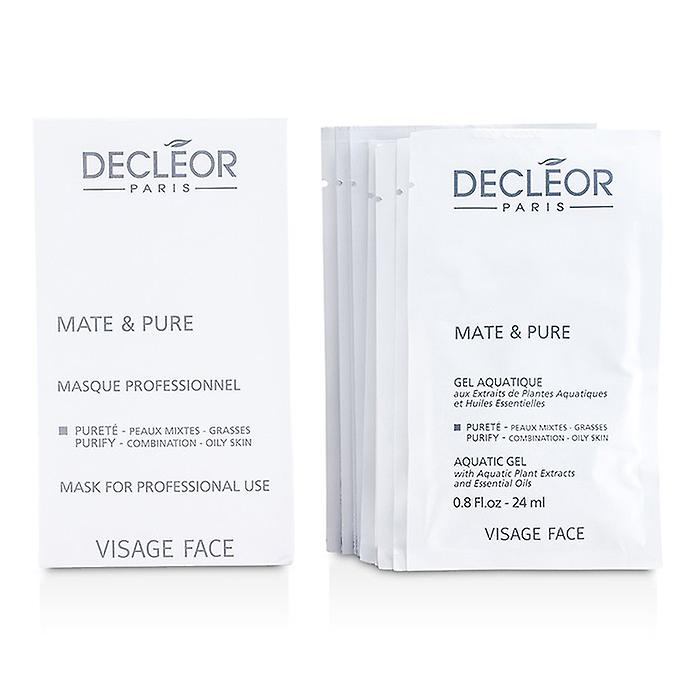 Decleor Mate & Pure Mask Vegetal Powder - Combination to Oily Skin (Salon Size) 10x5g