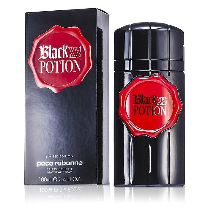 Paco Rabanne Black Xs Potion Eau De Toilette Spray (Limited Edition) 100ml / 3.4 oz