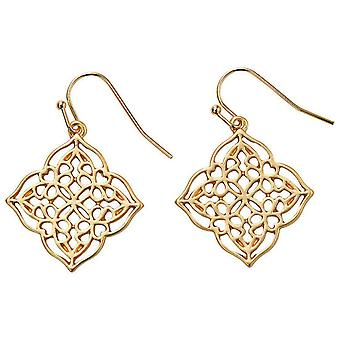 Jewel City Earrings - Gold Mate (Mode-accessoires , Imitatiesieraden , Oorbellen)