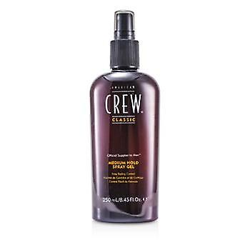 American Crew Men Medium Hold Spray Gel (Easy Styling Control) - 250ml/8.45oz