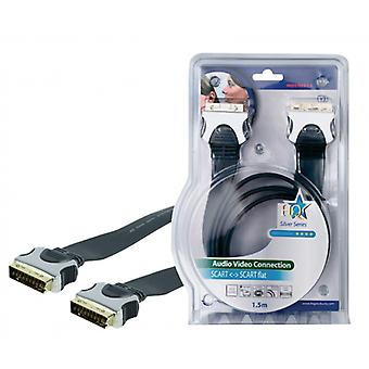 HQ Flat SCART cable 1.50 m