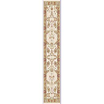 Cream & Green Ziegler Traditional Rug Arak