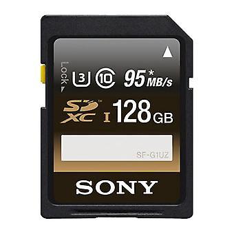 SONY 128GB SFUZ серии профессиональных SDXC карты памяти UHS-I U3 класс 10 95 МБ/с SF-G1UZ