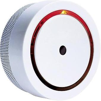 Smoke detector incl. 10-year battery, Miniature m-e modern-electronics 20570 battery-powered