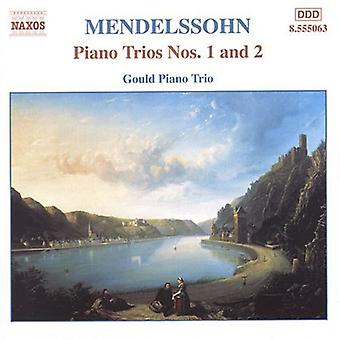 F. Mendelssohn - Mendelssohn: Piano Trios Nos. 1 & 2 [CD] USA import