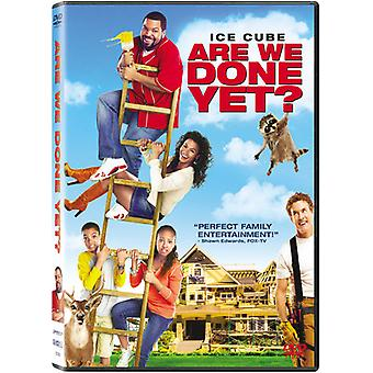 Are We Done Yet [DVD] USA import