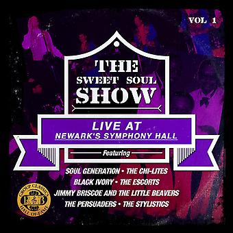 Soul Generation / Chi-Lites - Sweet Soul Show: Live at Newark's Symphony Hall 1 [CD] USA import