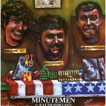 Minutemen - 3-måde Tie (for sidste) [CD] USA import