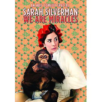 Sarah Silverman: Vi er mirakler [DVD] USA importerer
