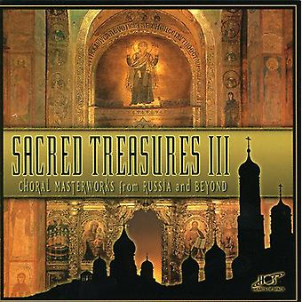 Sacred Treasures 3-Choral Mast - Sacred Treasures III: Choral Masterworks From Russia and Beyond [CD] USA import
