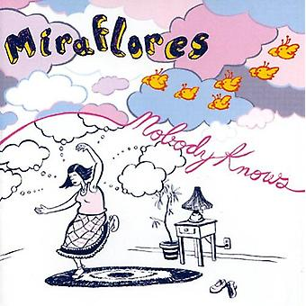 Miraflores - nadie sabe [CD] USA importar