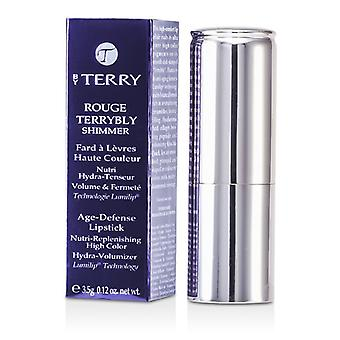 Door Terry Rouge Terrybly Shimmer Age Defense Lipstick - # 801 Dus Flamenco 3.5g / 0.12oz