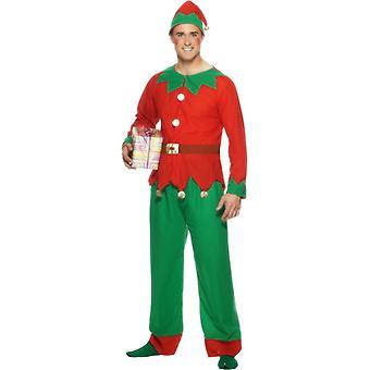 Elf drakt voksen Christmas Elf Elf drakt
