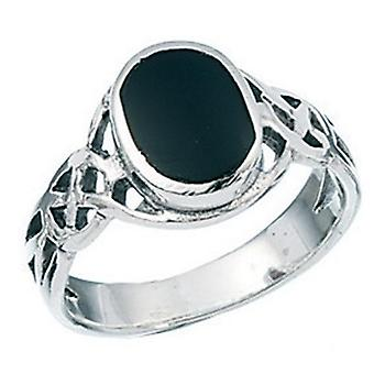 925 Silver Onyx Ring