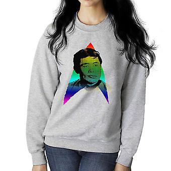 Rainbow Hikaru Sulu George Takei LGBTQ duma Star Trek Damska bluza