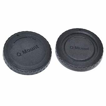 Rear Lens & Camera Body Caps for Pentax Q