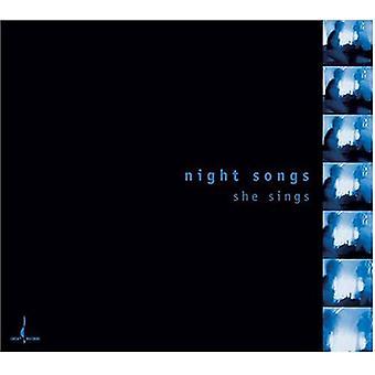 Night Songs She Sings - Night Songs She Sings [CD] USA import