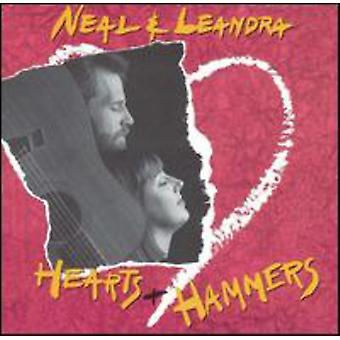 Neal & Leandra - Hearts & Hammers [CD] USA import