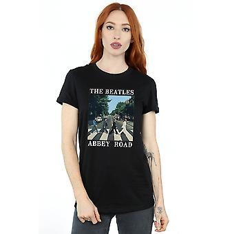 Beatles Women's Abbey Road kæreste Fit T-Shirt
